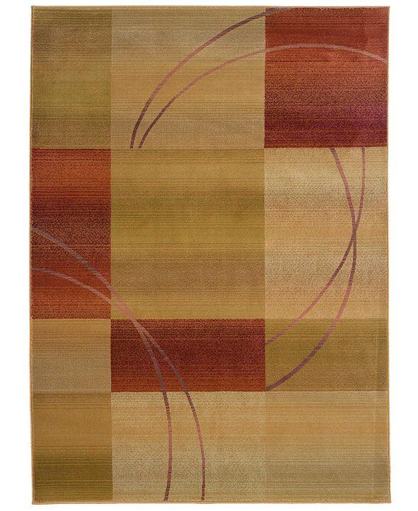 Oriental Weavers Round Area Rug, Generations 1608D Jayden 8'