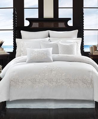 Tommy Bahama Home Heirloom Embroidery 4 Pc Bedding
