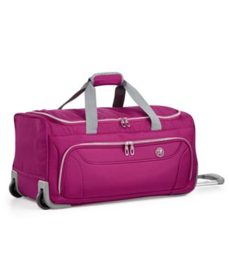 "CLOSEOUT! City Lights 2.0 22"" Rolling Duffel, Created for Macy's"