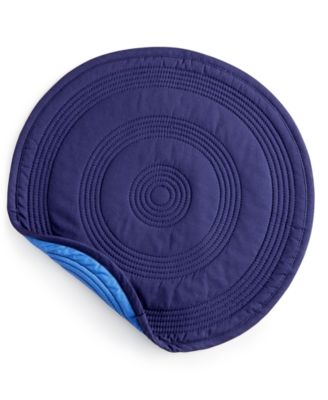 Lapis Target Quilted Placemat