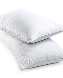Quilted GELcore Memory Foam Pillows, Hypoallergenic Fiber Fill, Created for Macy's