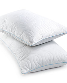 CLOSEOUT! SensorGel Quilted GELcore Memory Foam Pillows, Hypoallergenic Fiber Fill, Created for Macy's