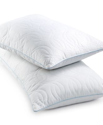 sensorgel quilted gelcore memory foam pillows fiber fill created for macyu0027s