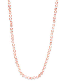 Charter Club Pink Imitation Pearl Necklace Collection, Created for Macy's