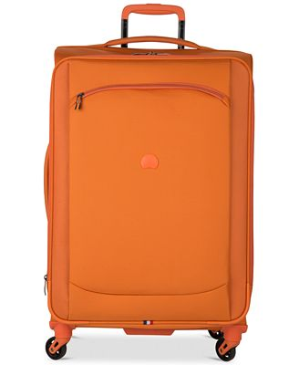 CLOSEOUT! 70% off Delsey Hyperlite 2.0 25'' Expandable Spinner Suitcase in Orange, Only at Macy's