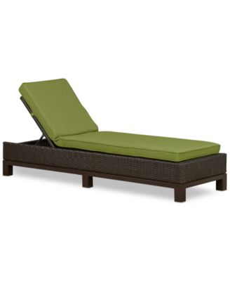 Katalina Wicker Outdoor Chaise Lounge, Created For Macyu0027s