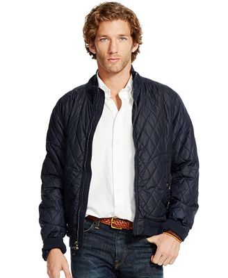 Polo Ralph Lauren Men's Quilted Bomber Jacket - Coats & Jackets ...