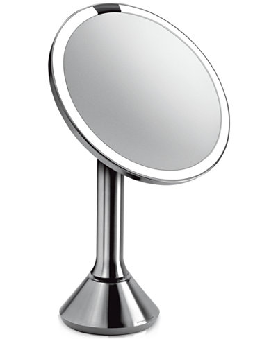 simplehuman Lighted Sensor-Activated Magnifying Vanity Makeup Mirror
