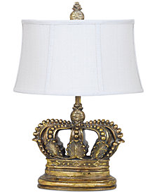 Crestview Crown Table Lamp