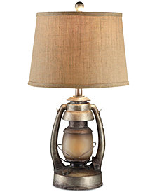 Crestview Oil Lantern Table Lamp