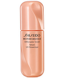 Your choice of a free skincare gift with $85 Shiseido purchase- up to a $22 value!