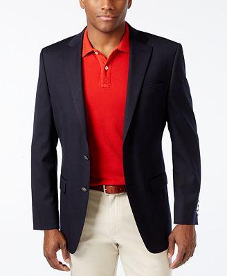 MICHAEL Michael Kors Solid Blazer - Blazers & Sport Coats - Men ...