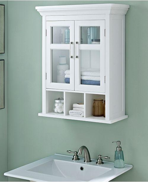 Furniture Hayde Two Door Wall Cabinet Quick Ship Furniture Macys