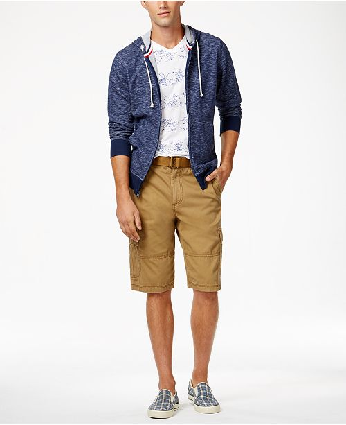 286eb33146 American Rag Men's Belted Relaxed Cargo Shorts, Created for Macy's ...