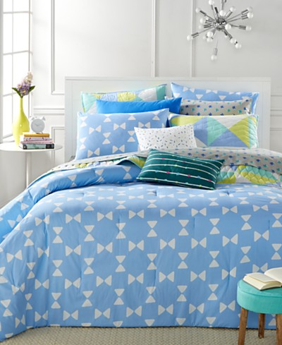 LAST ACT! Whim by Martha Stewart Collection Bow Tie 5-Piece Duvet Sets, Created for Macy's