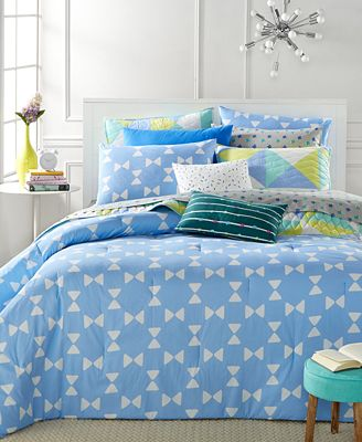CLOSEOUT! Whim by Martha Stewart Collection Bow Tie 5-Piece Duvet Sets, Only at Macy's