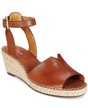 0e229a08d00 UPC 889304838270 - Clarks Petrina Selma Wedge Sandals - Nutmeg 8.5 M ...