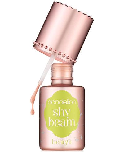 Benefit Cosmetics Dandelion shy beam nude pink matte-radiance highlighter