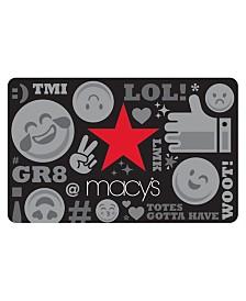 Macy's Millennial E-Gift Card