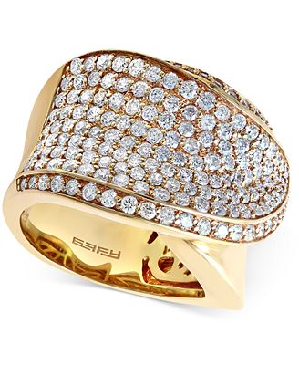 Couture by EFFY Diamond Overlap Ring (2-3/8 ct. t.w.) in 14k Gold