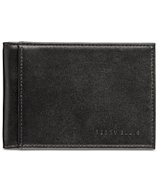 Perry Ellis Portfolio Men's Leather Front-Pocket RFID Wallet