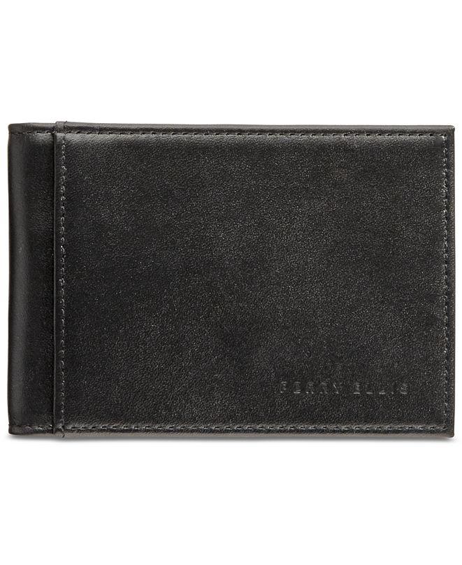 Perry Ellis CLOSEOUT! Portfolio Men's Leather Front-Pocket RFID Wallet