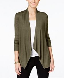 I.N.C. Petite Open-Front Cardigan, Created for Macy's