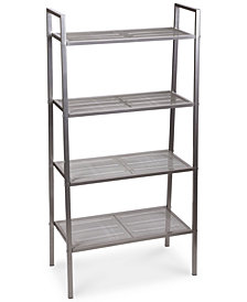 Household Essentials 4-Tier Storage Rack