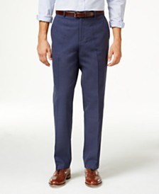 mens navy blue linen pants - Pi Pants