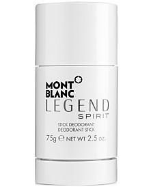 Montblanc Men's Legend Spirit Deodorant, 2.5 oz