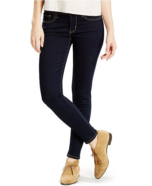 Levi's Women's 710 Super Skinny Jeans in Long Length