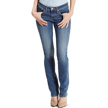 Levis 712 Womens Slim-Fit Jeans