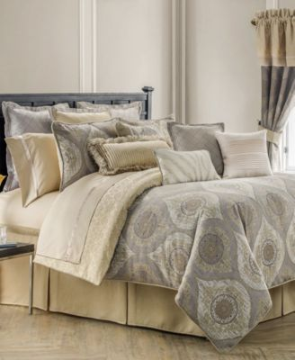 waterford marcello king comforter set - Oversized King Comforter