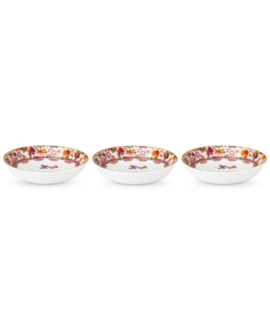 Lenox Melli Mello Isabelle Floral Collection 3Pc Dip Bowls Exclusively available at Macys