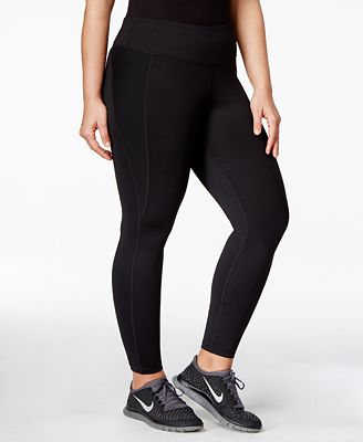 Ideology Plus Size Slimming Leggings, Only at Macy's - Pants ...