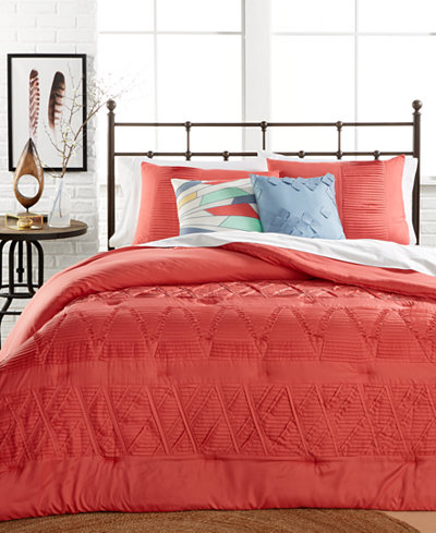 CLOSEOUT! Origami Comforter Sets
