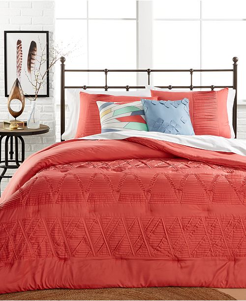 Jessica Sanders CLOSEOUT! Origami 5-Piece Full/Queen Comforter Set