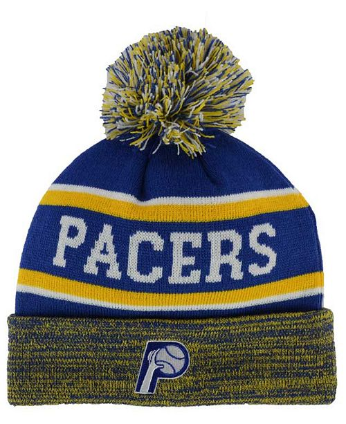 huge discount 37e06 c8491 ... where to buy new era indiana pacers marled cuff knit hat sports fan  shop by 00547