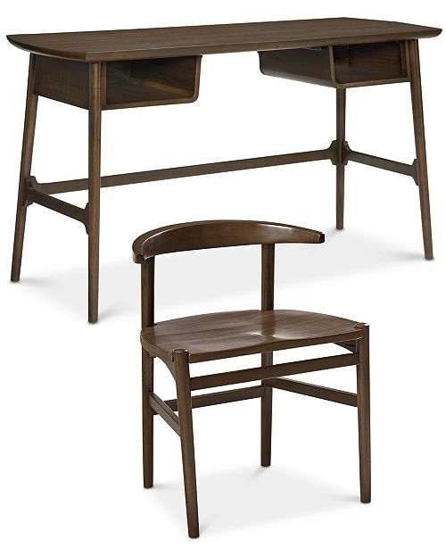 Furniture CLOSEOUT! Hirono Home Office Furniture, 2-Pc. Set (Desk and Chair)