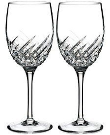 Waterford Essentially Wave Collection Wine Glasses, Set of 2