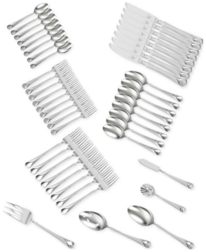 Zwilling J.a. Henckels Twin Brand Provence 18/10 Stainless Steel 45-Pc. Flatware Set, Service for 8
