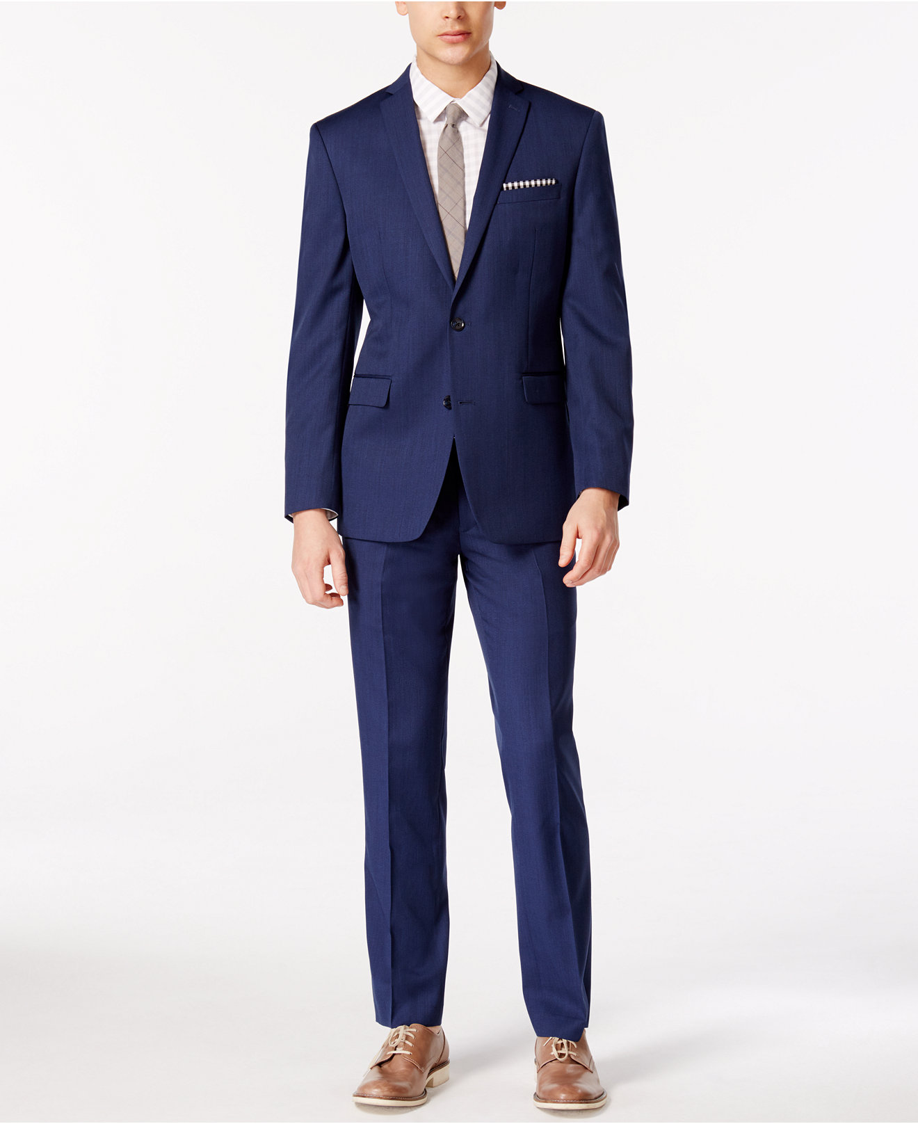 Bar III Colbalt Blue Slim-Fit Suit Separates, Only at Macy's - Men ...