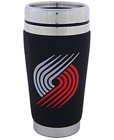 Hunter Manufacturing Portland Trail Blazers 16 oz. Stainless Steel Travel Tumbler