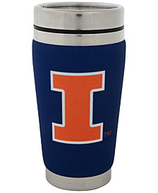 Hunter Manufacturing Illinois Fighting Illini 16 oz. Stainless Steel Travel Tumbler