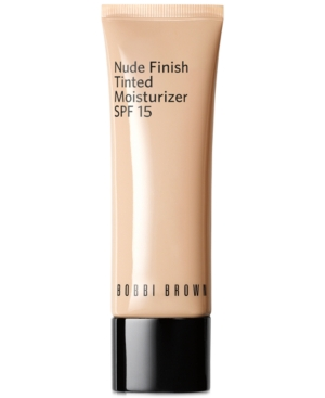 Bobbi Brown Nude Finish Tinted Moisturizer Spf 15 In Porcelain Tint