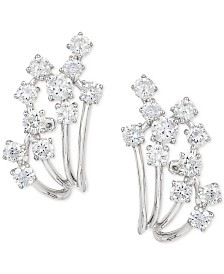 Pavé Classica by EFFY Diamond Earrings (7/8 ct. t.w.) in 14k White Gold