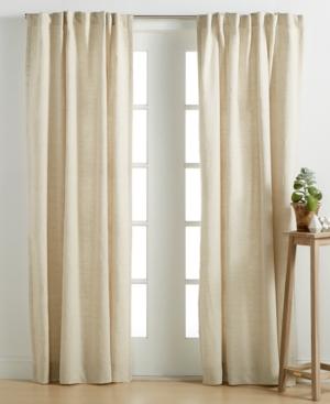 linen window panel