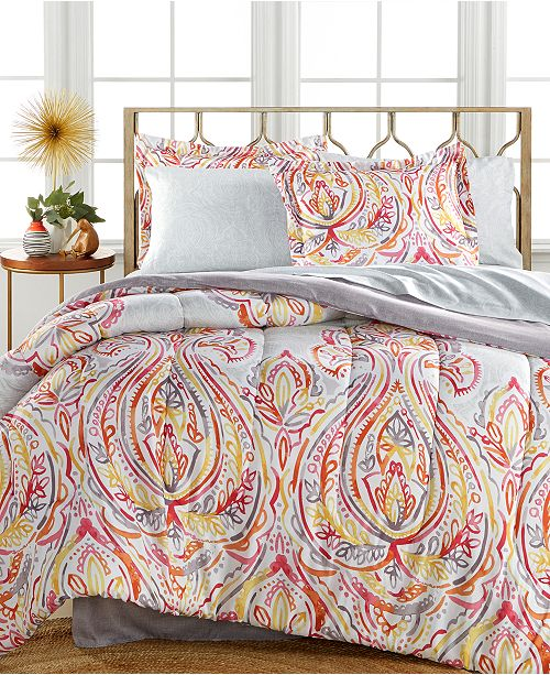 Fairfield Square Collection CLOSEOUT! Harmony 6-Pc Twin XL Bedding Ensemble, Reversible