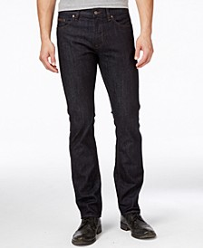 Boss Men's Delaware Navy Blue Wash Jeans