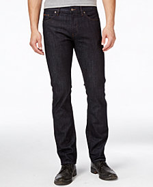 Boss Hugo Boss Men's Delaware Navy Blue Wash Jeans